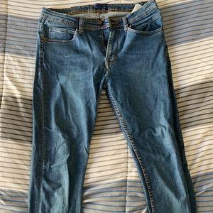 Zara Dark Blue Denim Jeans